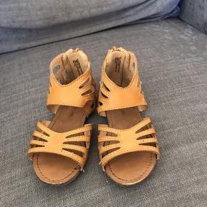 Tab gladiator sandals